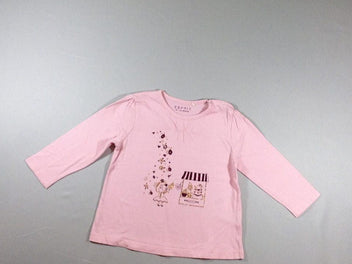 T-shirt m.l rose ours barbapapa