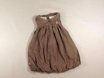Robe boule s.m taupe