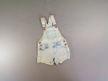 Salopette short jean clair, Denim&co