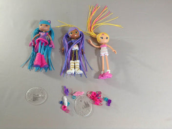 Betty Spaghetty 3 figurines avec accessoires