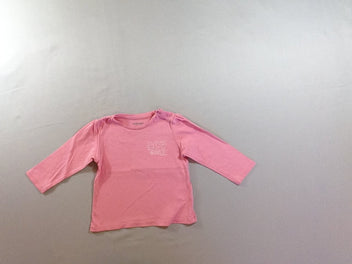 T-shirt m.l rose Super