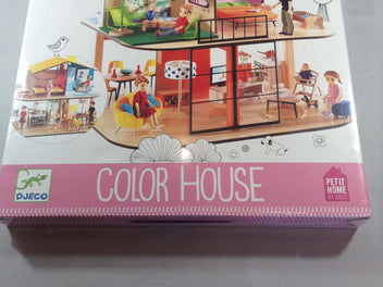 NEUF Color House, Petit Home, 4-10a