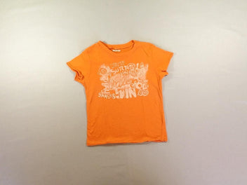 T-shirt m.c orange flammé Ball