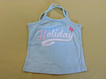 Top jersey turquoise Holiday