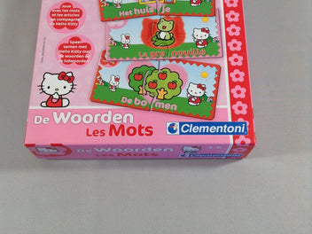 Les mots, dominos, Hello Kitty, 4-6a