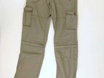 Pantalon modulable kaki