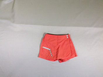 Short jupe orange