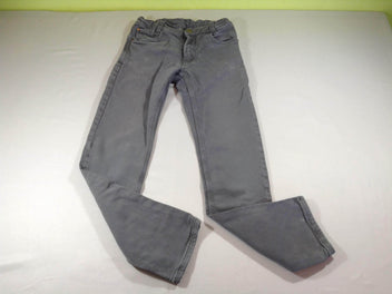 Pantalon gris légèrement stretch