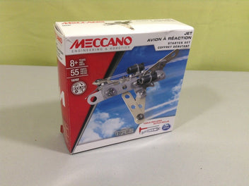 Meccano Set Jet avion à réaction, 8+