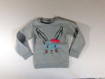 Sweat lapin sequins