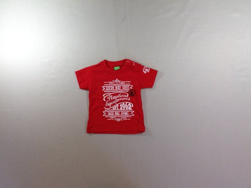 T-shirt m.c rouge Nautical