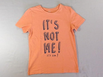 T-shirt m.c orange It's not me !