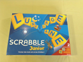 NEUF sous blister Scrabble junior, 6-10a 30€ maxi-toys