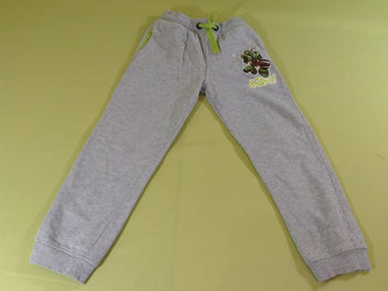 Pantalon de training gris chiné Tortues Ninjas