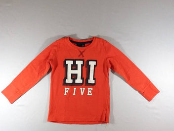 T-shirt m.l orange Hi Five