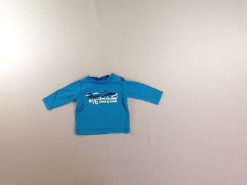 T-shirt m.l bleu Finest Cotton
