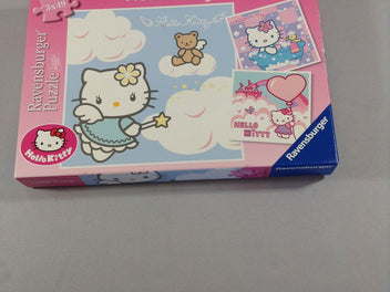 Puzzle Hello Kitty, 3x49pcs, +5a