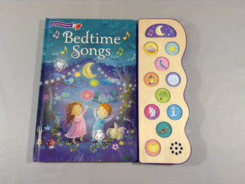Bedtime Songs, livre sonore
