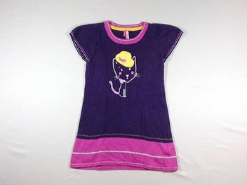 Robe pull m.c mauve chat