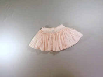 Jupe tulle rose doublure
