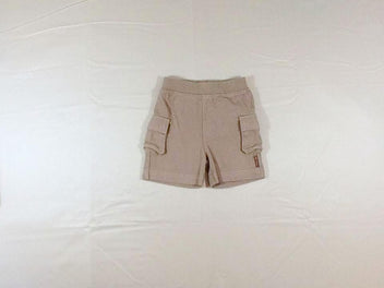Short jersey taupe