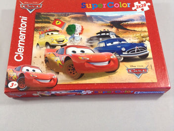 Puzzle 2x20pcs, Cars, Super Color, +3a