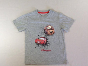 T-shirt m.c gris chiné Cars