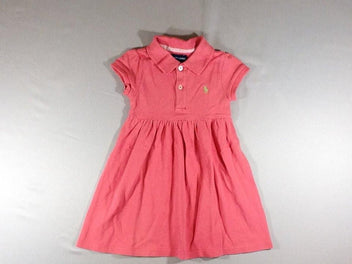 Robe polo m.c rose