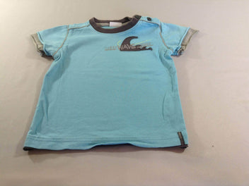 T-shirt m.c bleu Wave