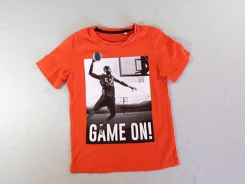 T-shirt m.c orange basket