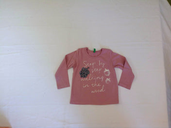 NEUF T-shirt m.l rose glands
