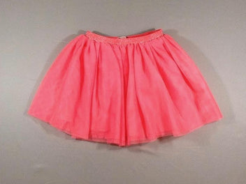 Jupe tulle rose fluo