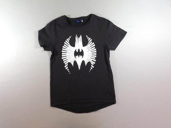 T-shirt m.c noir flammé Batman
