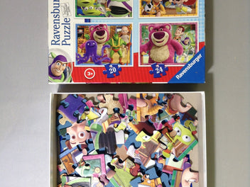 4 Puzzles Toy story 12, 16, 20, 24