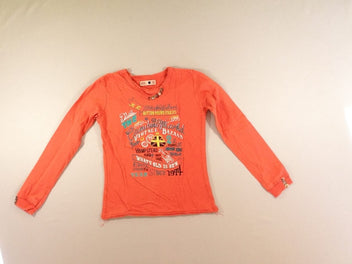 T-shirt m.l épais orange London