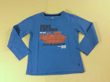 T-shirt m.l bleu Road Explorer