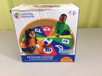 Learning resources tapis d'activité cercle, 3+