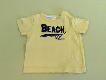 T-shirt m.c jaune Beach