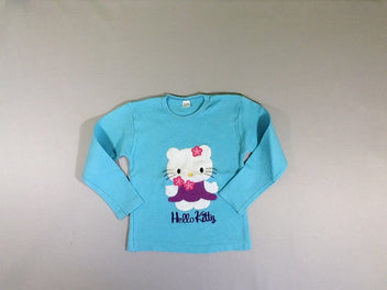 T-shirt m.l bleu Hello Kitty
