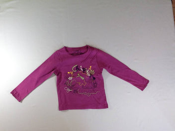 T-shirt m.l mauve Chipie