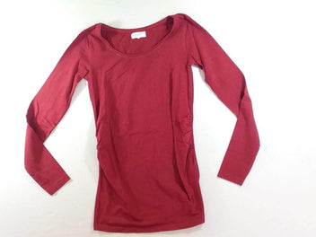 T-shirt m.l bordeaux