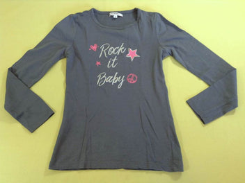T-shirt m.l gris Rock it Baby