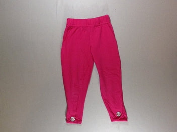Legging court rose vif