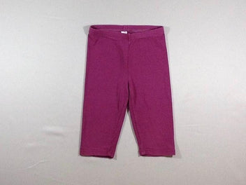 Legging court mauve