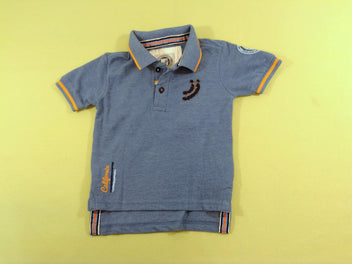 Polo m.c bleu chiné, Jn-Joy