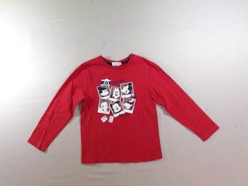 T-shirt m.l rouge Mickey