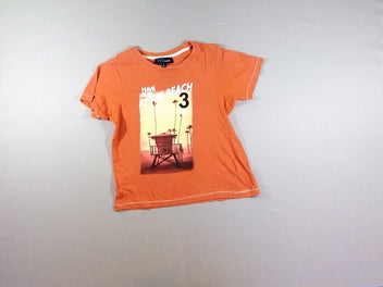 T-shirt m.c orange Beach