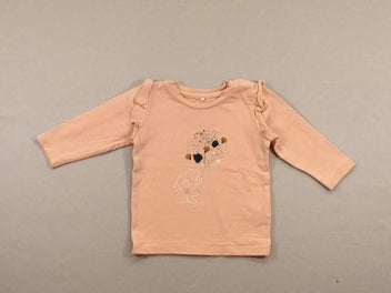 T-shirt m.l rose lapin