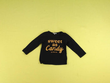 T-shirt m.l bleu marine « sweet as Candy »