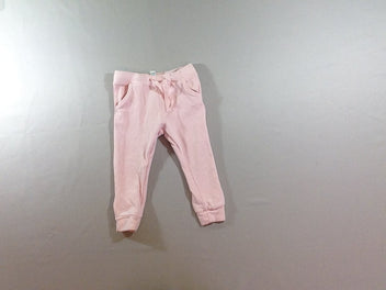 Pantalon de training molleton rose